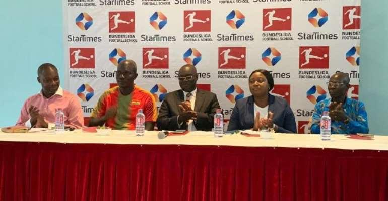 StarTimes Unveils Bundesliga Football School Project In Ghana