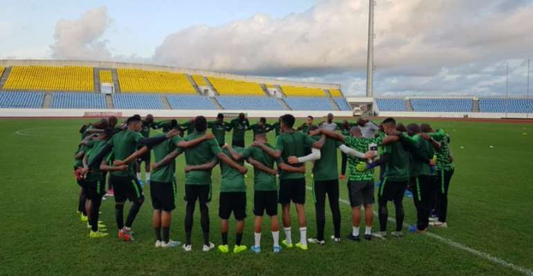 2021 AFCON Qualifiers: South Africa Hold First Training Session In Cape Coast Ahead Of Ghana Game