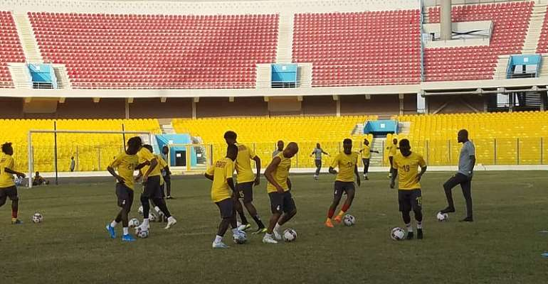 2021 AFCON Qualifiers: 13 Players Take Part In First Black Stars Training