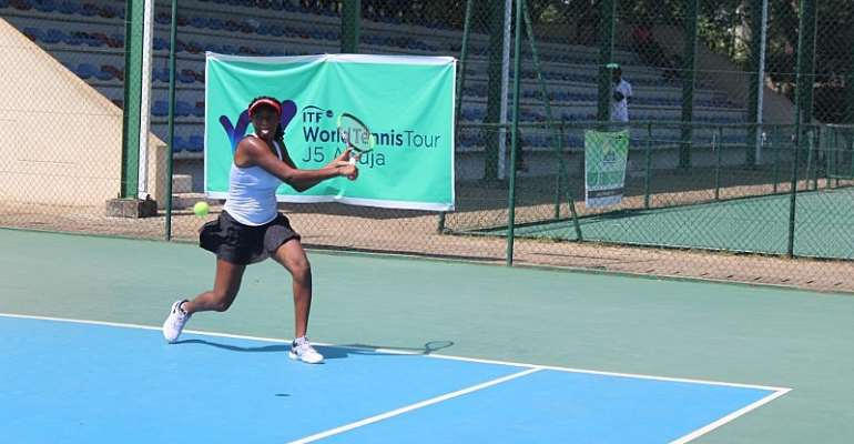 Ghanaian Players Step Up Training For Abuja J5 Tennis ITF Futures Second Leg