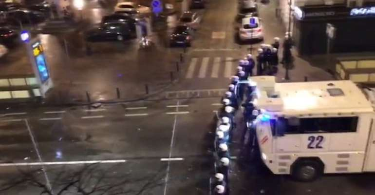 Morocco World Cup Qualification Sparks Riots In Brussels