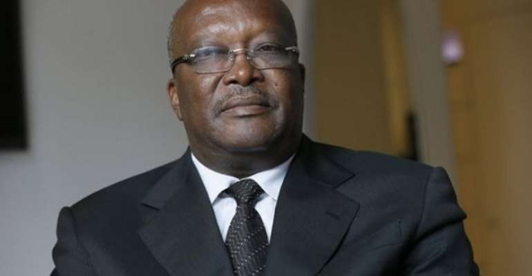 President of Burkina Faso, Mr Roch Marc Christian Kaboré