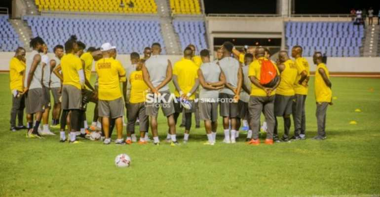 2021 AFCON Qualifiers: Black Stars First Training At Cape Coast In Pictures