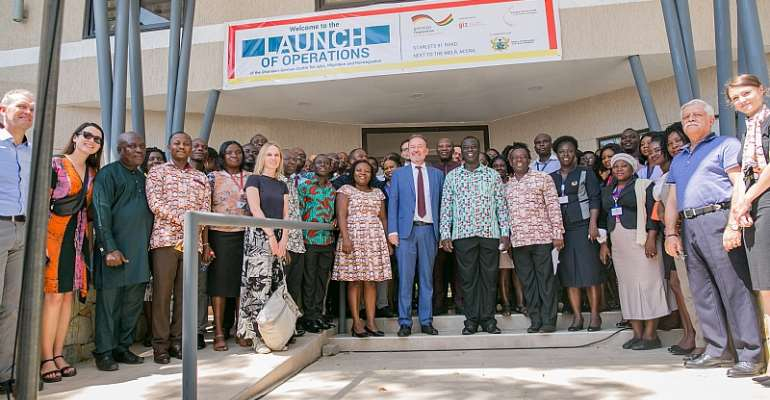 Ghanaian-German Centre For Jobs, Migration And Reintegration Relocates To Deepen Collaboration With Labour Ministry