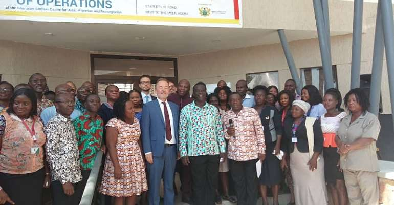 Ghanaian-German Center For Jobs Move To Labour Ministry To Deepen Collaboration