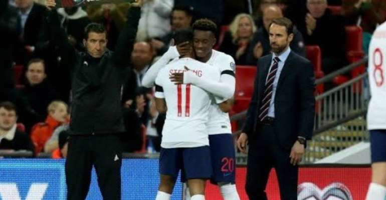 Hudson-Odoi: Sterling Is My Idol And A Leader For England
