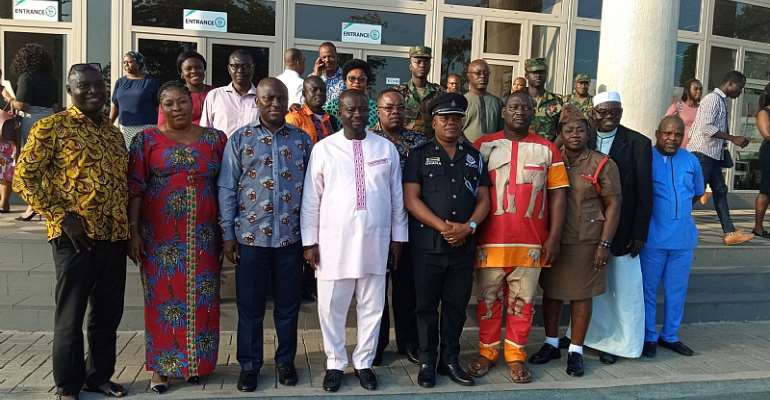 Greater Accra NADMO Disaster Management Committees Inaugurated