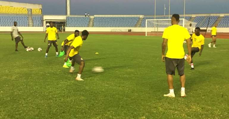 AFCON Qualifiers: Black Stars Hold Final Training Session Ahead Of South Africa Cracker