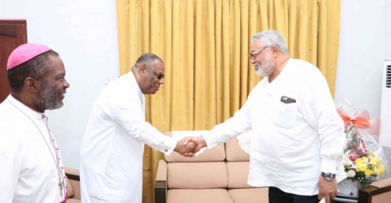 [Full text] Duncan-Williams Pays Tribute To Rawlings