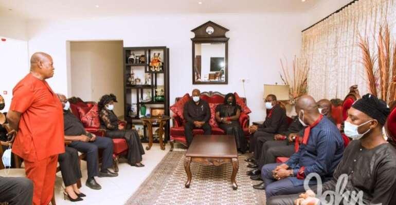 Rawlings' Death: Mahama Leads NDC To Console Konadu