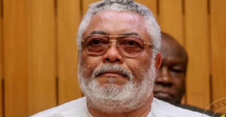 Rawlings' Death: Flags Fly Half-Mast In Hohoe And Ho
