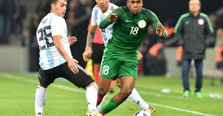 World Cup-Bound Nigeria Shock Argentina, Claim 4-2 Win In Friendly