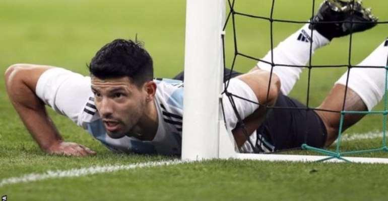 Aguero Faints After Nigeria's Comeback Win Over Argentina