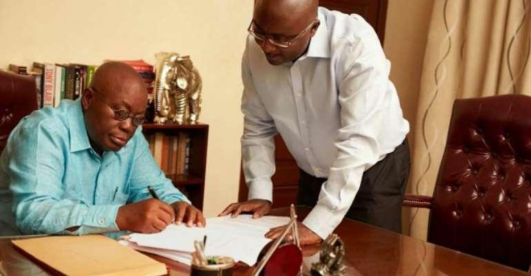 Nana Akufo-Addo And The Making Of Bawumia