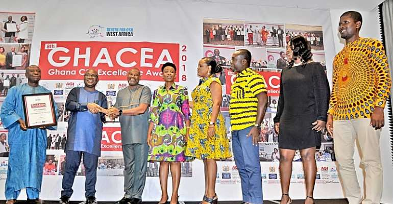 MTN Wins CSR Company of the Year the 3rd Time