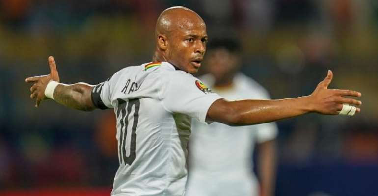 2021 AFCON Qualifiers: Andre Ayew Reveals How Black Stars Can Survive Against South Africa