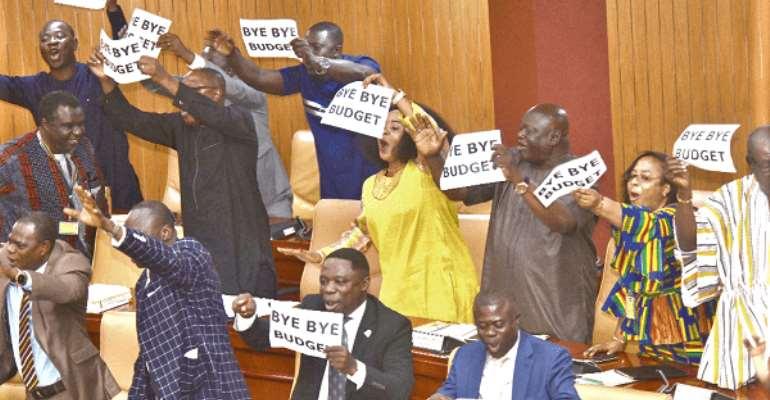 Minority displays in Parliament