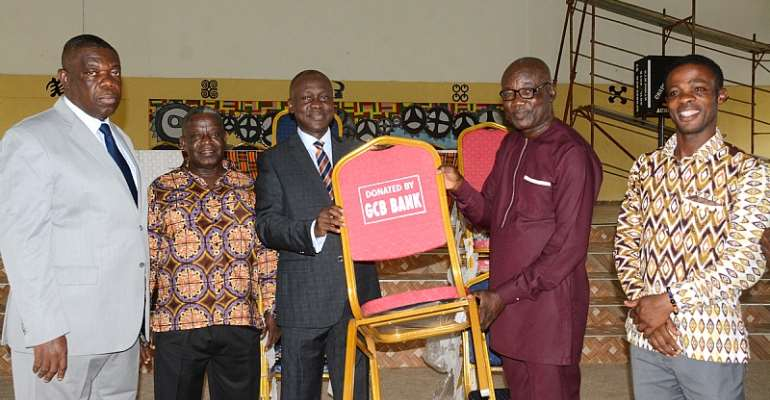 GCB Donates 1,500 Chairs To Acherensua SHS