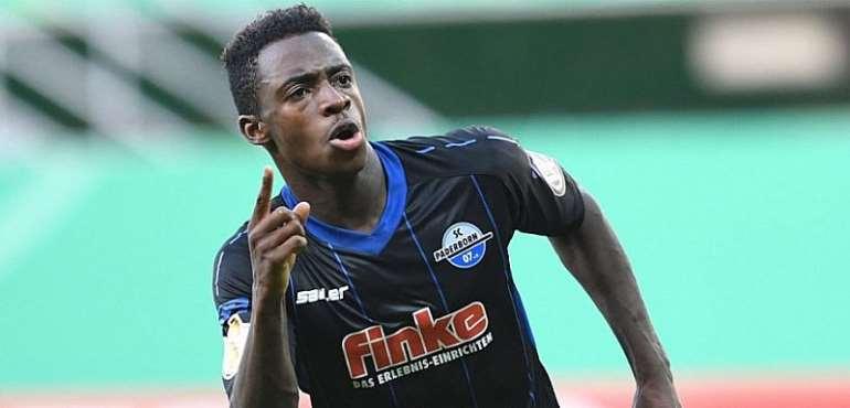 Striker Antwi-Adjei Arrives For Black Stars Duties