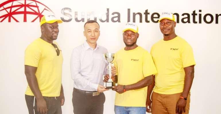 Triumphant Ghana Rugby Men's Eagles Visit Sunda International