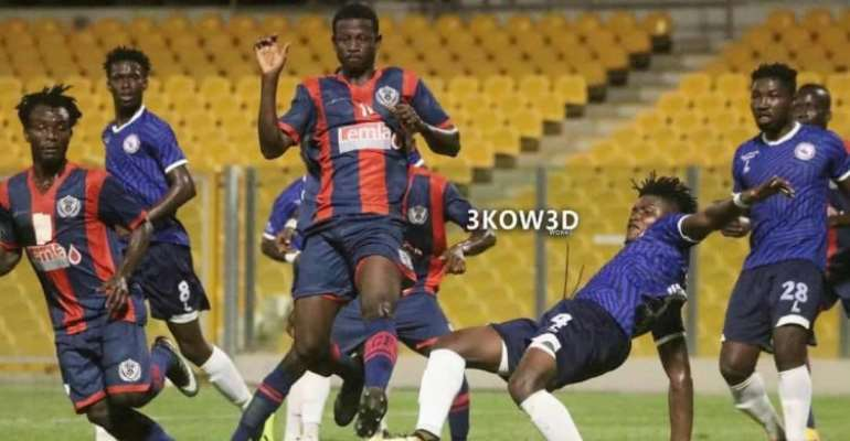 Ghana Premier League: Thugs Rob Legon Cities And Berekum Chelsea At Accra Sports Stadium