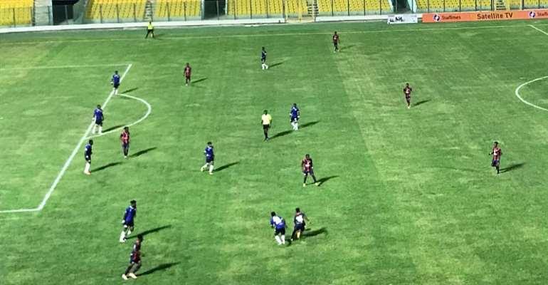 2020/2021 Ghana Premier League: Berekum Chelsea Hold Legon Cities FC In Season Opener
