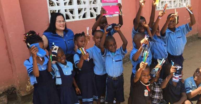 Swedish Philanthropist Helps Kids At Budumburam