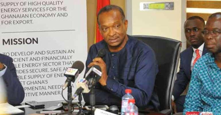 Board chairman of VRA, Mr Kweku Andoh Awotwi