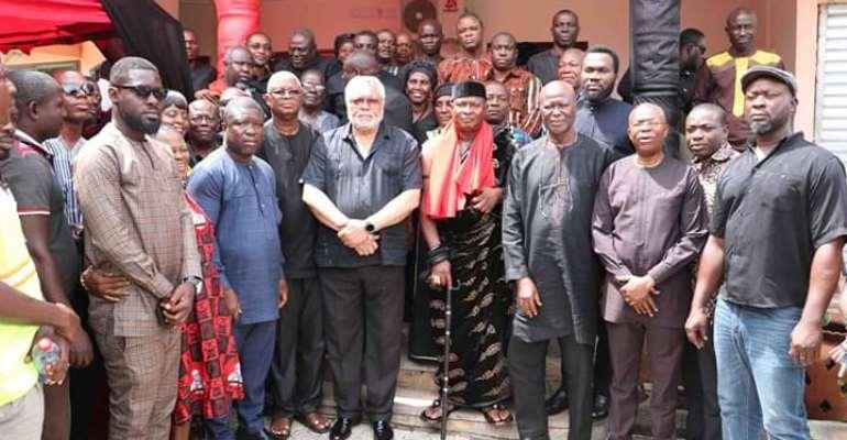 Rawlings Wants True Values Of Comradeship In NDC