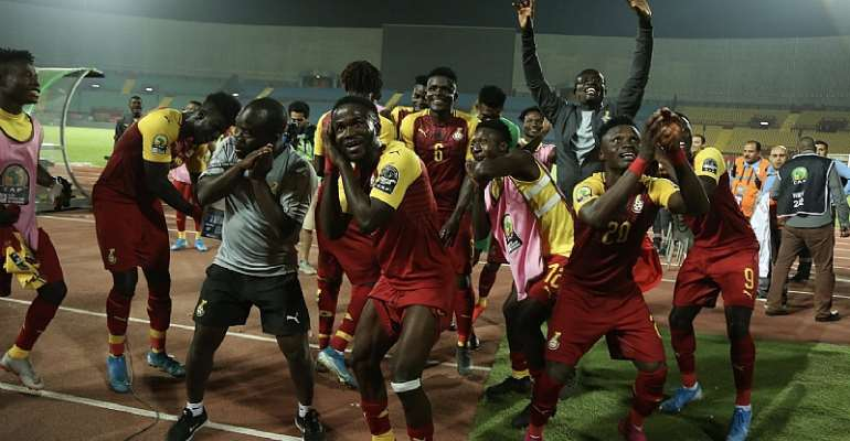 CAF U-23 AFCON: Ghana Beat All Odds To Book Semi Finals Place [PHOTOS]