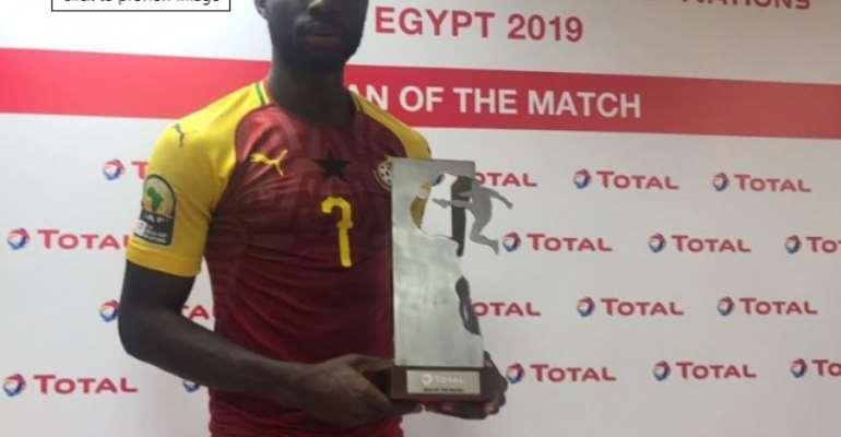CAF U-23 AFCON: Kwabena Owusu Named MOTM Against Mali