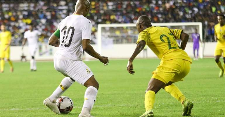 AFCON Qualifiers: Ghana Turns Attention To Sao Tome Clash After Beating South Africa