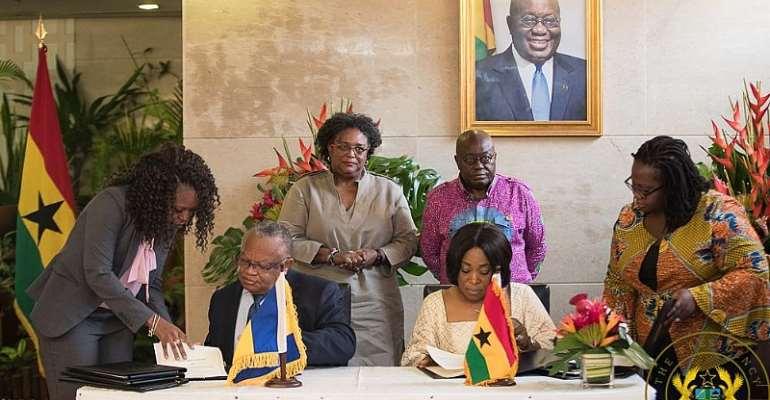 Ghana, Barbados sign agreement to establish sister Port relationship