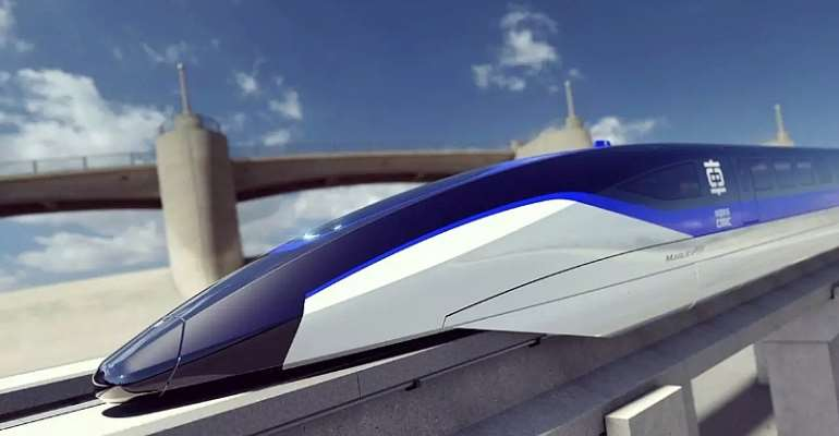 China's new Magnetic Levitation train for 2020 will be able to travel 360 miles per hour. (courtesy of (Motor1.com)