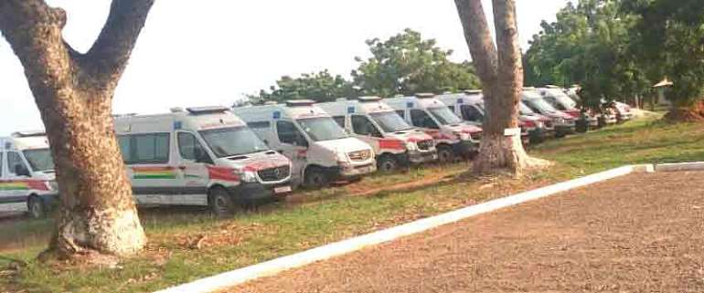 Ambulances Not Parked For Campaign – Gov't