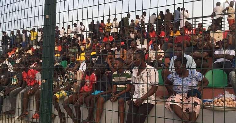 Fans Storm Zurak Park At Madina To Watch Black Stars Train