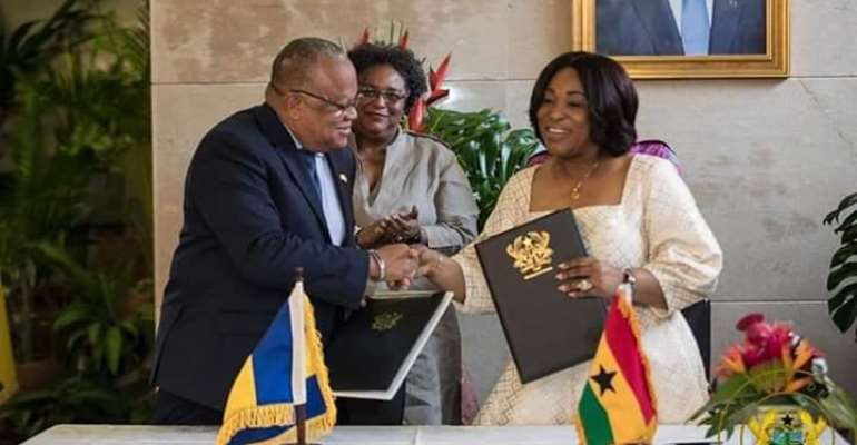 We Appreciate Ghana's Support To our Health Sector - Barbados Primier to Akufo-Addo