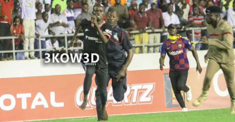 Ghanaians Want Ghana, South Africa Pitch Invader Freed As #FreeAwal Trends On Social Media