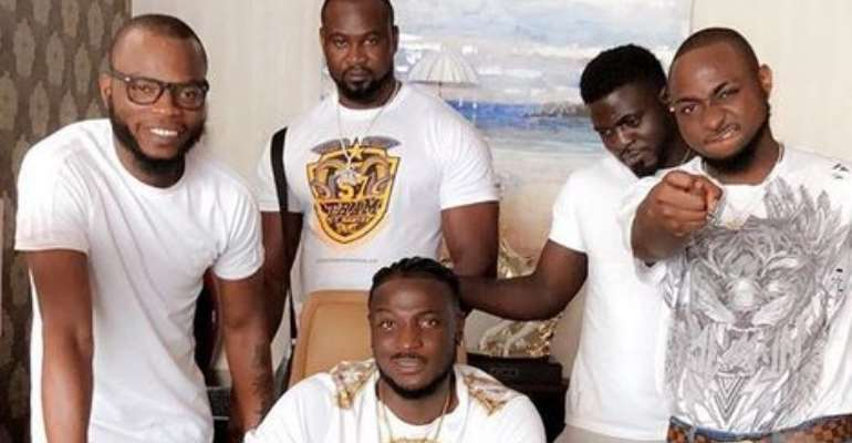 Singer, Davido Signs New Artiste into DMW Record Label