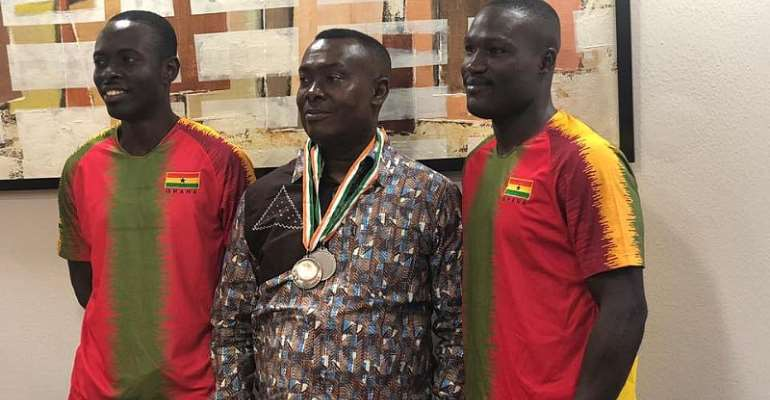 Mawuko Afadzinu Congratulates Table Tennis Stars