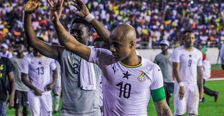 2021 AFCON Qualifiers: Andre Ayew Pleads Ghana, South Africa Pitch Set Free