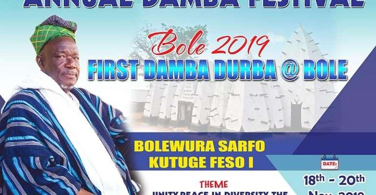 Dark Clouds As Bolewura Insists Damba Will Be Celebrated