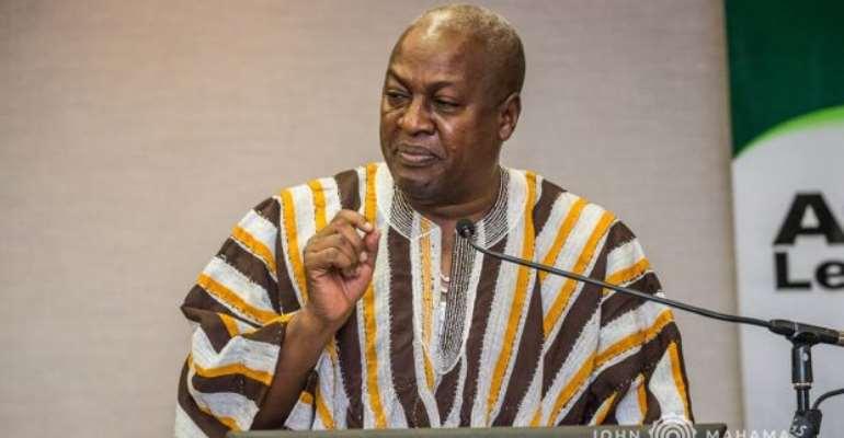 Mahama backs NDC's position on December referendum