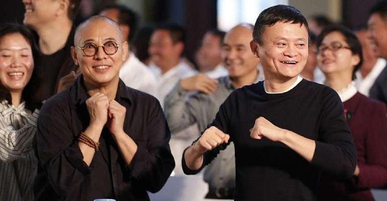 Letter to Jack Ma and Jet Li