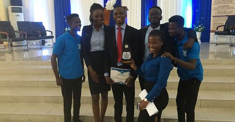 KNUST School Of Business Students Beat Out Ucc School Of Business In Debate
