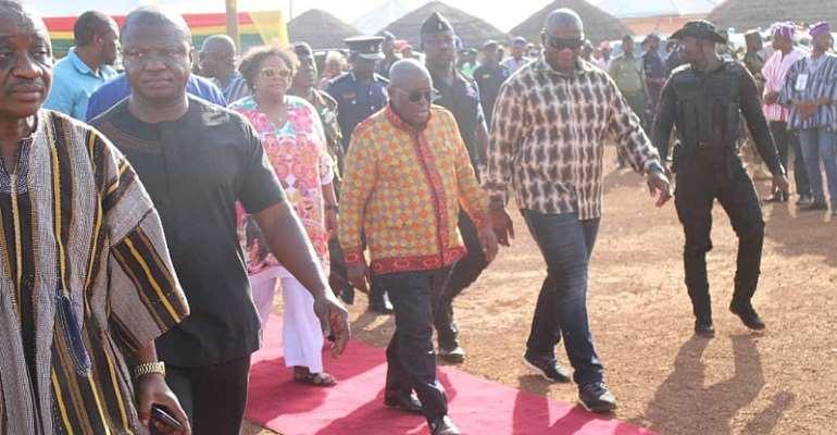 Nana Addo Arrives In Yendi For 2019 Damba Festival