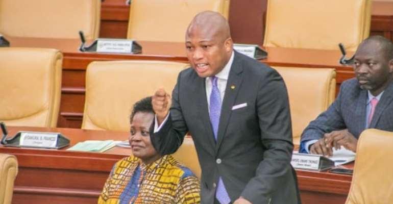 National Democratic Congress Member of Parliament for North Tongu is Samuel Okudzeto Ablakwa