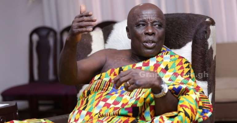 December 17 Referendum: We were not consulted on National House of Chiefs' position - Okyenhene