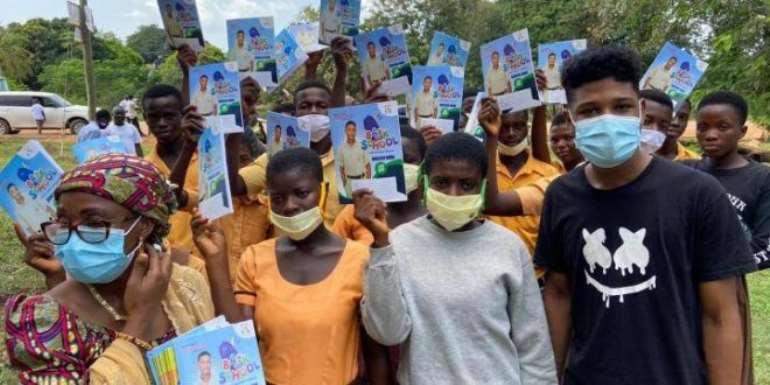 Free SHS Ambassador Rahim Banda Visits 35 Schools In Volta Region