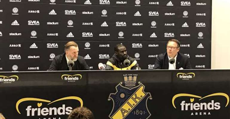 Enoch Adu Kofi Eyes January Move Away From Swedish Side AIK Stockholm